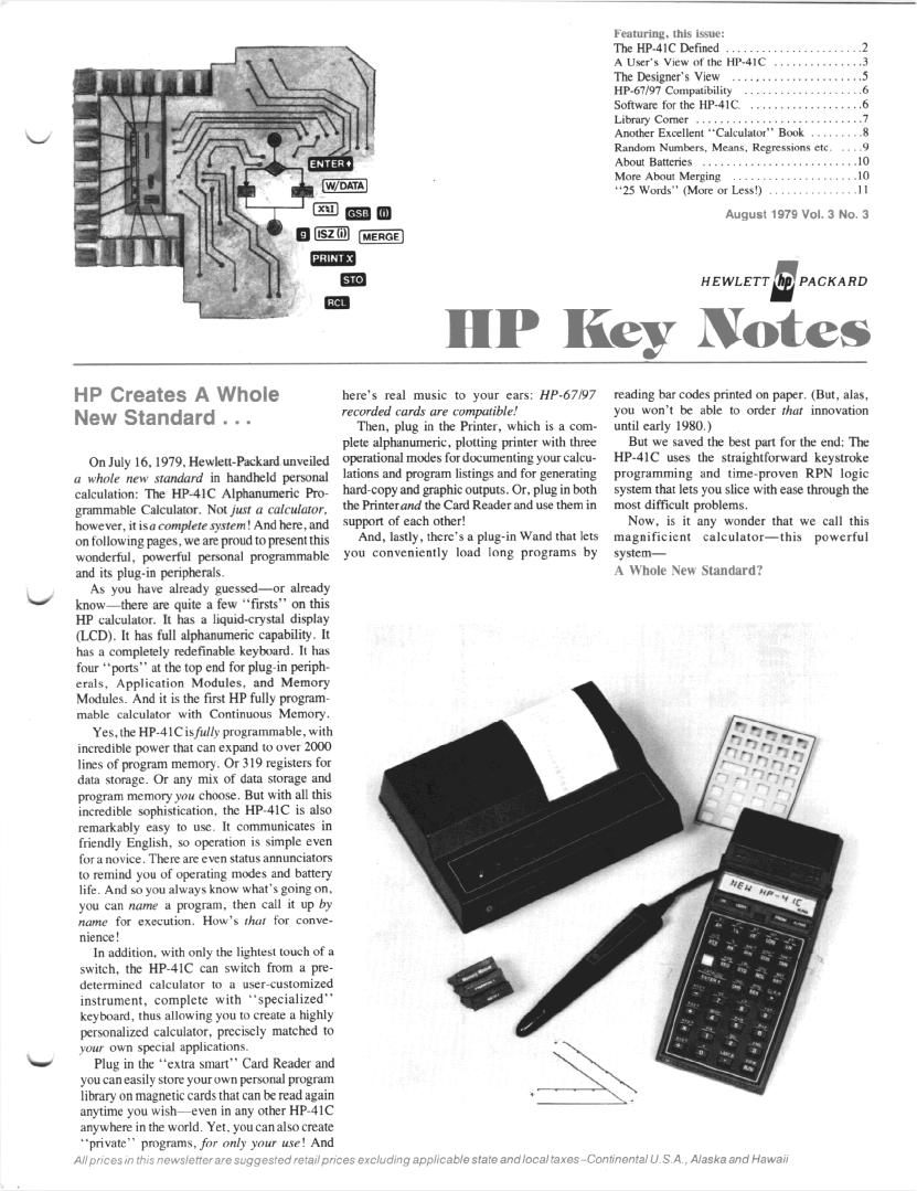 [Image: HP%20Key%20Note%2041C%20Cover.jpg]